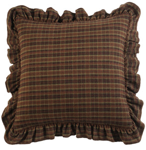 Cabin Bear Alt Euro Sham Wooded River - unique linens online