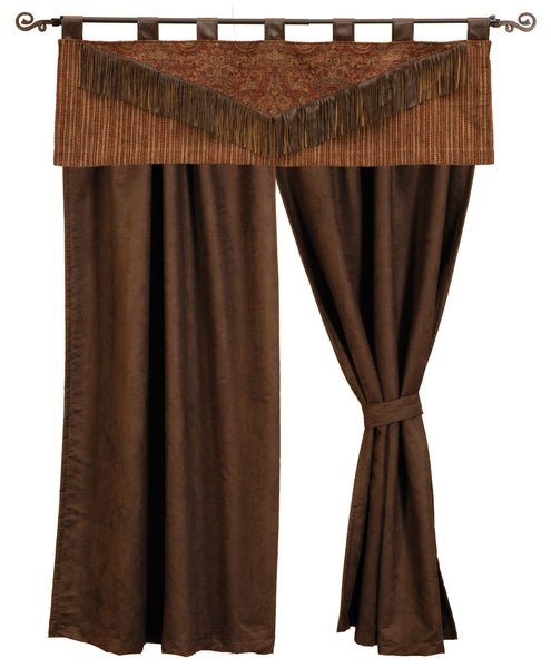 Milady Drape Sets Wooded River - unique linens online