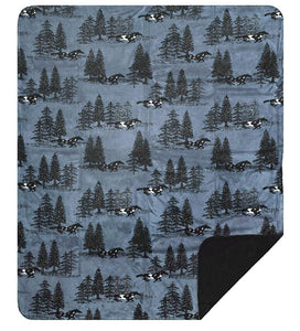 Horse Flight Denali Blanket - unique linens online