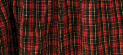 McWoods Plaid 1 Gathered Bedskirts Wooded River - unique linens online