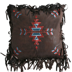 Southwest Embroidered Pillow Carstens - unique linens online