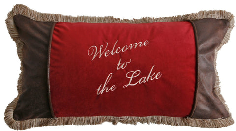 Welcome to the Lake Pillow Carstens - unique linens online