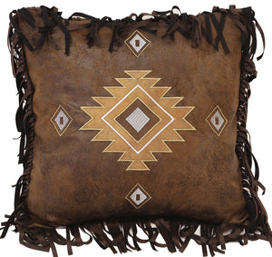 Cimarron Old West Diamond Pillow Carstens - unique linens online