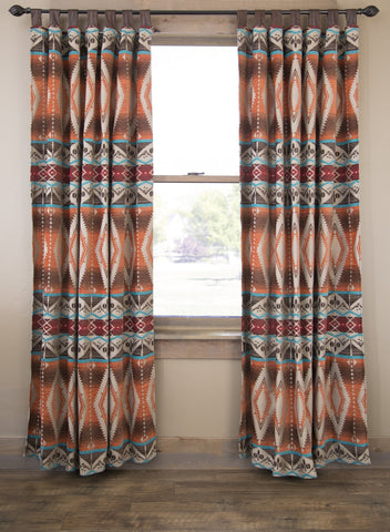 Mojave Sunset Drapes Carstens - unique linens online