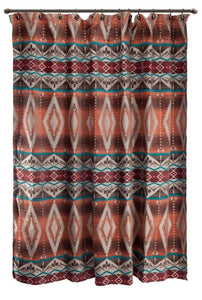 Mojave Sunset Shower Curtain Carstens