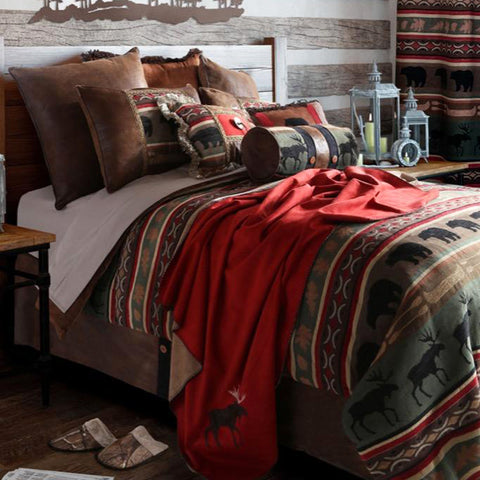 Backwoods Comforter Collection Carstens - unique linens online
