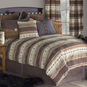 Rugged Earth Comforter Set Collection Carstens - unique linens online