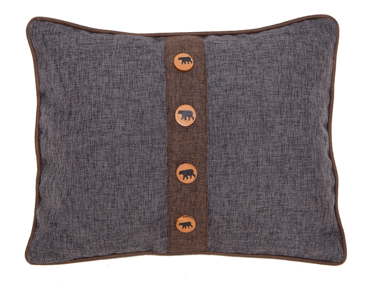 Rugged Earth Bear Pillow Carstens