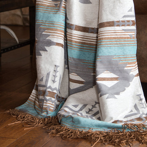 Badlands Sky Throw Carstens - unique linens online