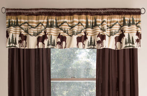 Hinterland Lodge Valance Set Carstens - unique linens online