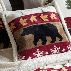 Tall Pine Pillow Carstens - unique linens online
