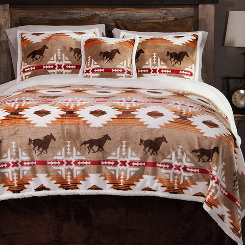 Free Rein Western Collection Carstens - unique linens online