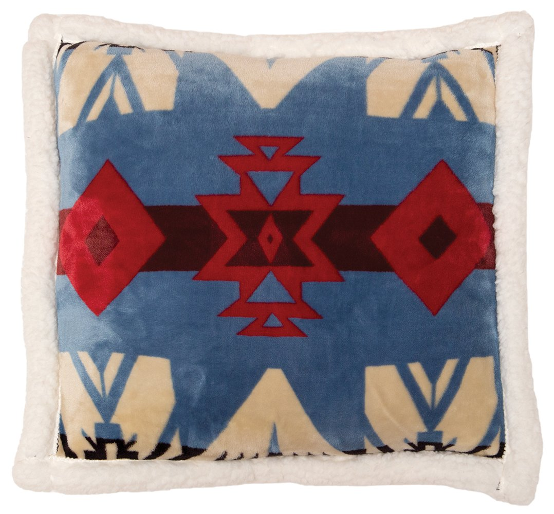 Blue River Southwest Pillow Carstens - unique linens online