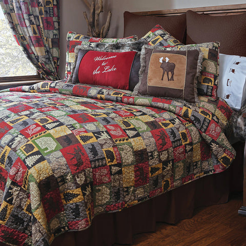 Cabin In the Woods Quilt Collection Carstens - Unique Linens Online