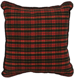 Wooded River Bear Plaid Pillow Wooded River - unique linens online