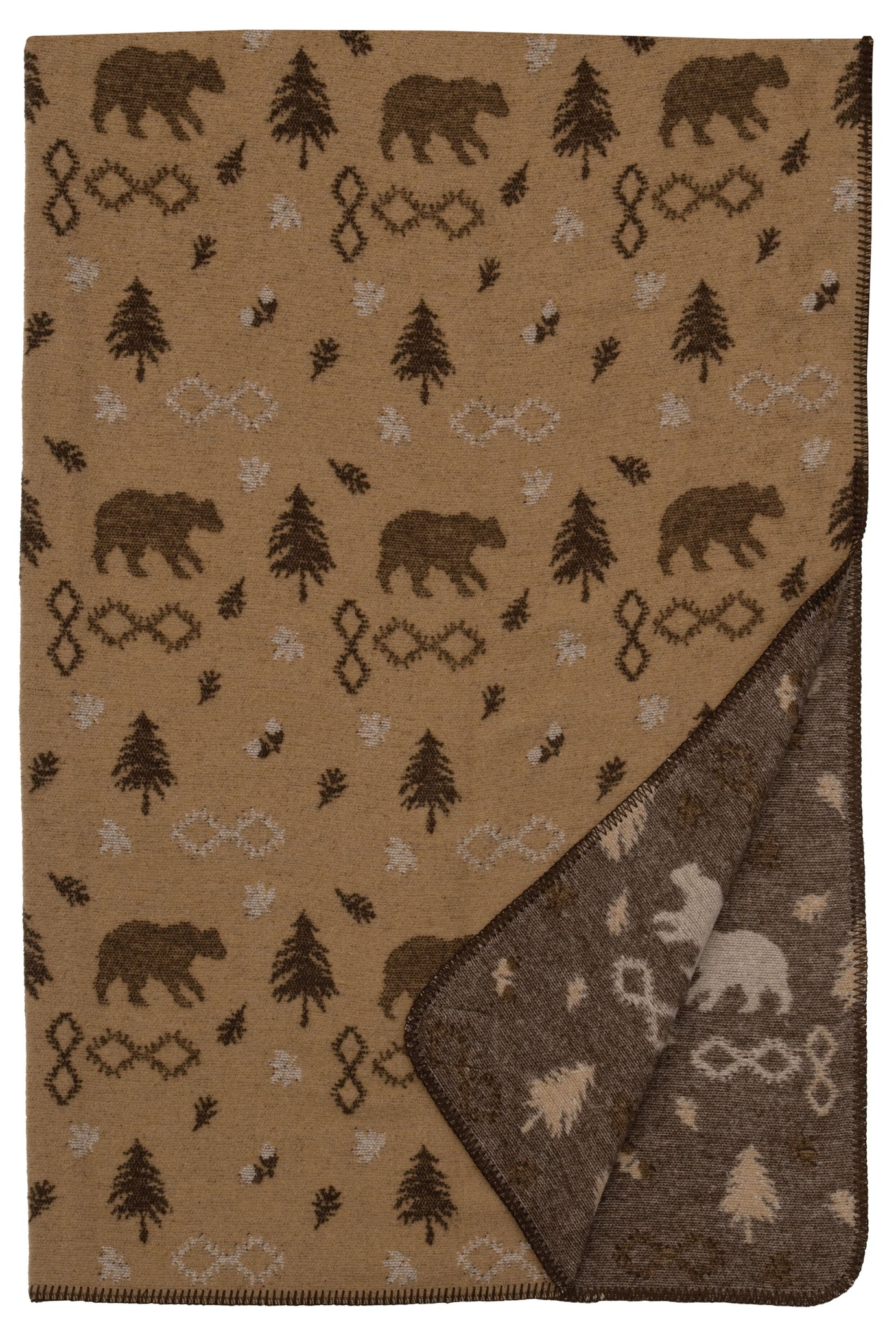 Gunnison Throw Wooded River - unique linens online