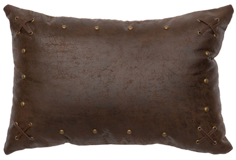 Mustang Canyon II Oblong Pillow Wooded River - unique linens online