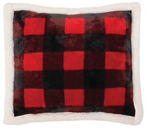 Lumberjack Plaid Pillow Carstens - Unique Linens Online