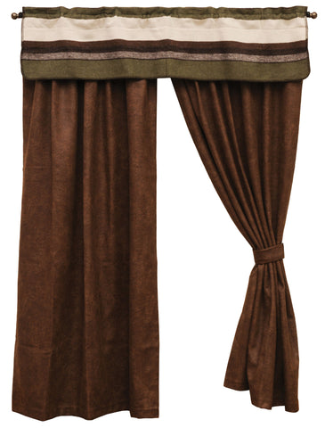 Sage Valley Drape Sets Wooded River