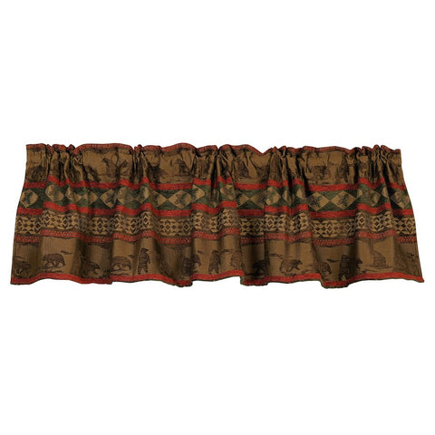 Cascade Lodge Valance HiEnd Accents - unique linens online