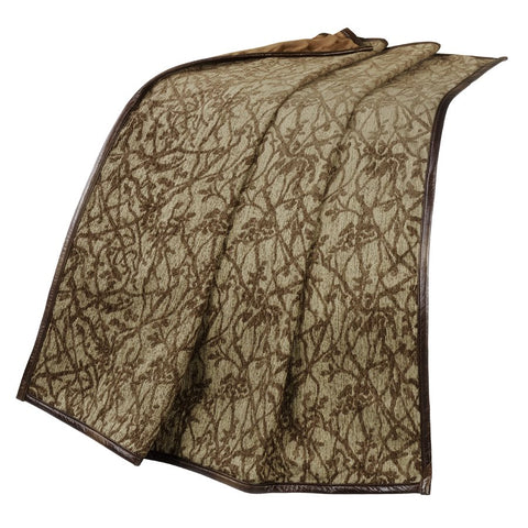 Highland Lodge Throw Blanket HiEnd Accents - unique linens online