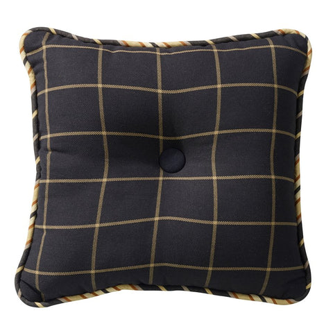 Ashbury Tufted Pillow HiEnd Accents - unique linens online