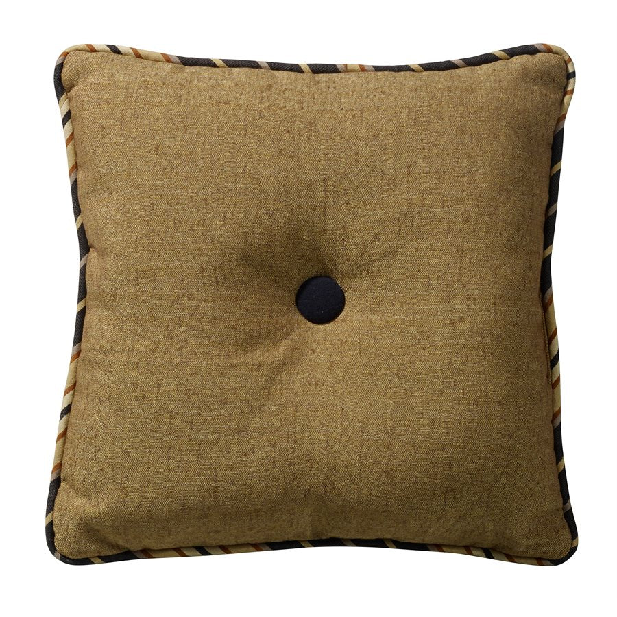 Ashbury Linen Tufted Pillow HiEnd Accents - unique linens online