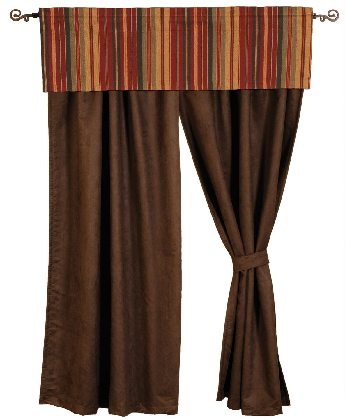 Bandera II Drape Sets Wooded River - unique linens online