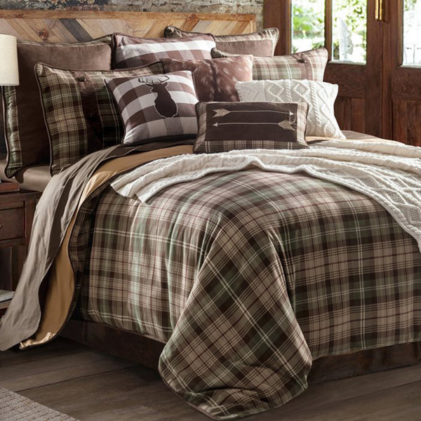 Huntsman Comforter Set HiEnd Accents - unique linens online