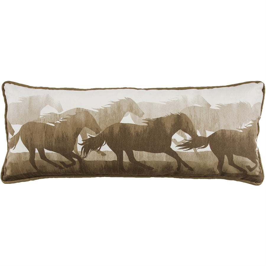 Running Horse Body Pillow HiEnd Accents - unique linens online