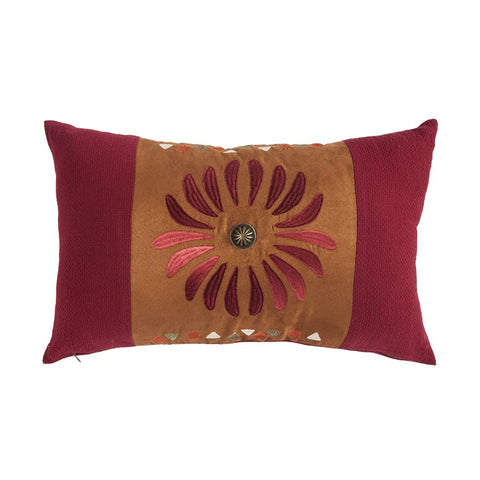 Solace Sunburst Pillow HiEnd Accents - unique linens online
