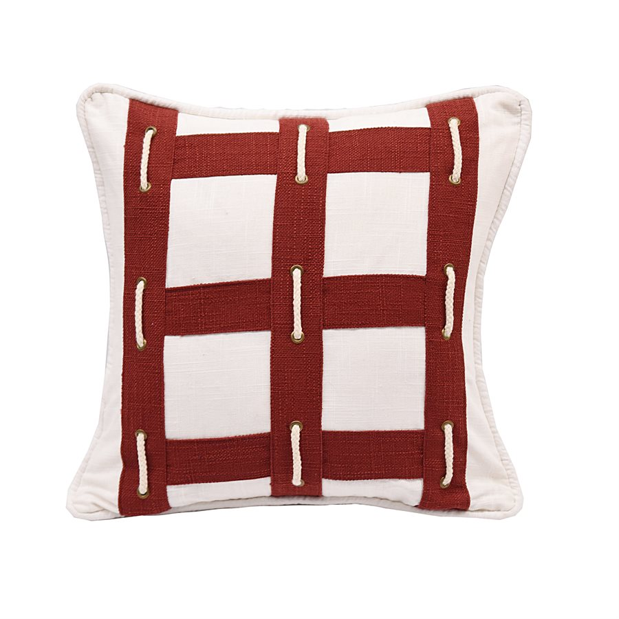 Red Boxing Pillow HiEnd Accents - unique linens online