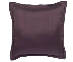 Profiles Silk Plum Square Pillow Mystic Valley Traders - unique linens online