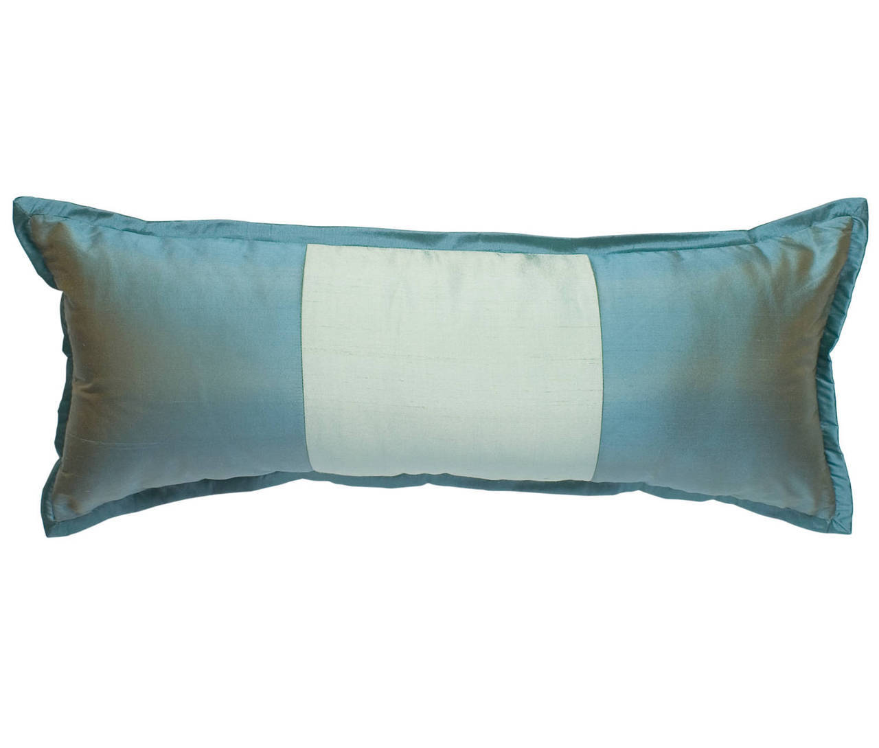 Profiles Silk Turquoise Large Boudoir Pillow Mystic Valley Traders - unique linens online