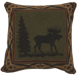 McWoods 1 Eurosham Wooded River - unique linens online