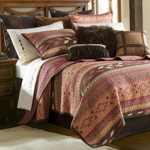 Broken Arrow Quilt Sets HiEnd Accents - Unique Linens Online