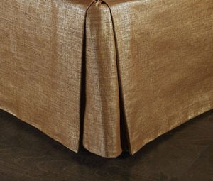 Radiance Copper Bedskirt Mystic Valley Traders - unique linens online