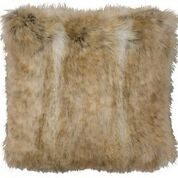 Canadian Sone Fox Fur Pillow Wooded River - unique linens online