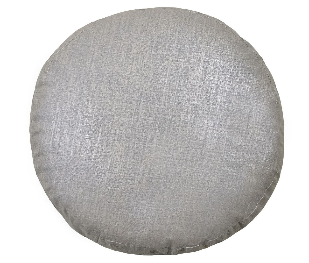 "Radiance Steel 18"" Pancake Pillow Mystic Valley Traders - unique linens online"