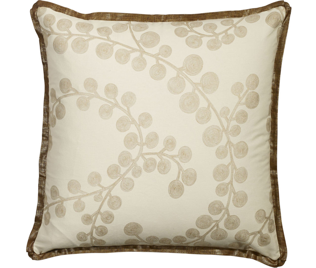 Radiance Copper Euro Sham Mystic Valley Traders - unique linens online