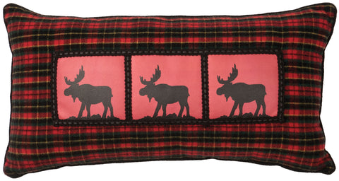 McWoods 1 Oblong Pillow Wooded River - unique linens online
