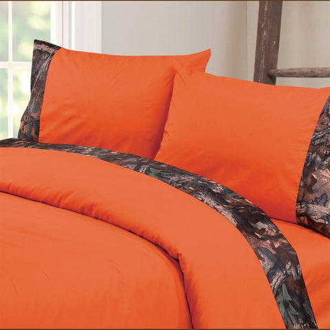 Oak Camo Sheet Sets HiEnd Accents - unique linens online