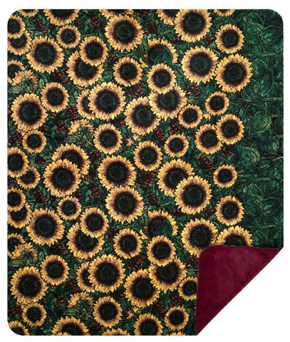 Sunflowers Denali Blanket - unique linens online