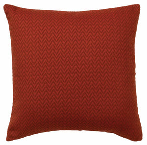 Red Pepper Alt Euro Shams Wooded River - unique linens online