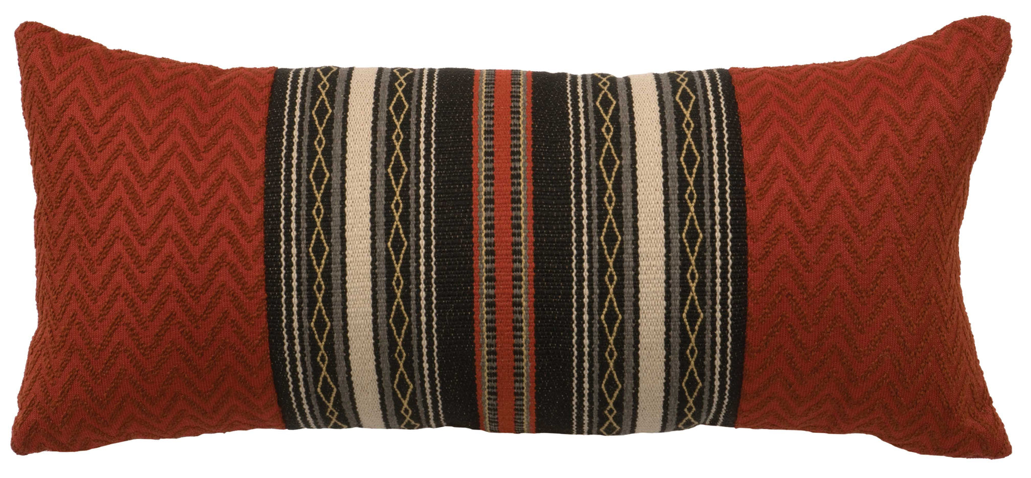 Red Pepper Oblong Pillow Wooded River - unique linens online