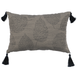 Ava Oblong Pillow Wooded River - unique linens online