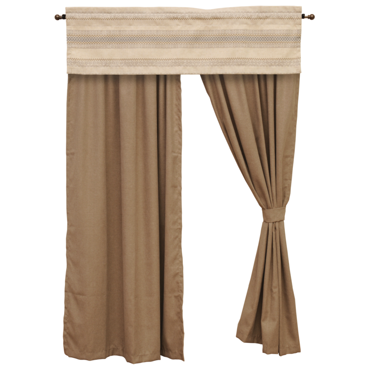 Ava Drape Set Wooded River - unique linens online