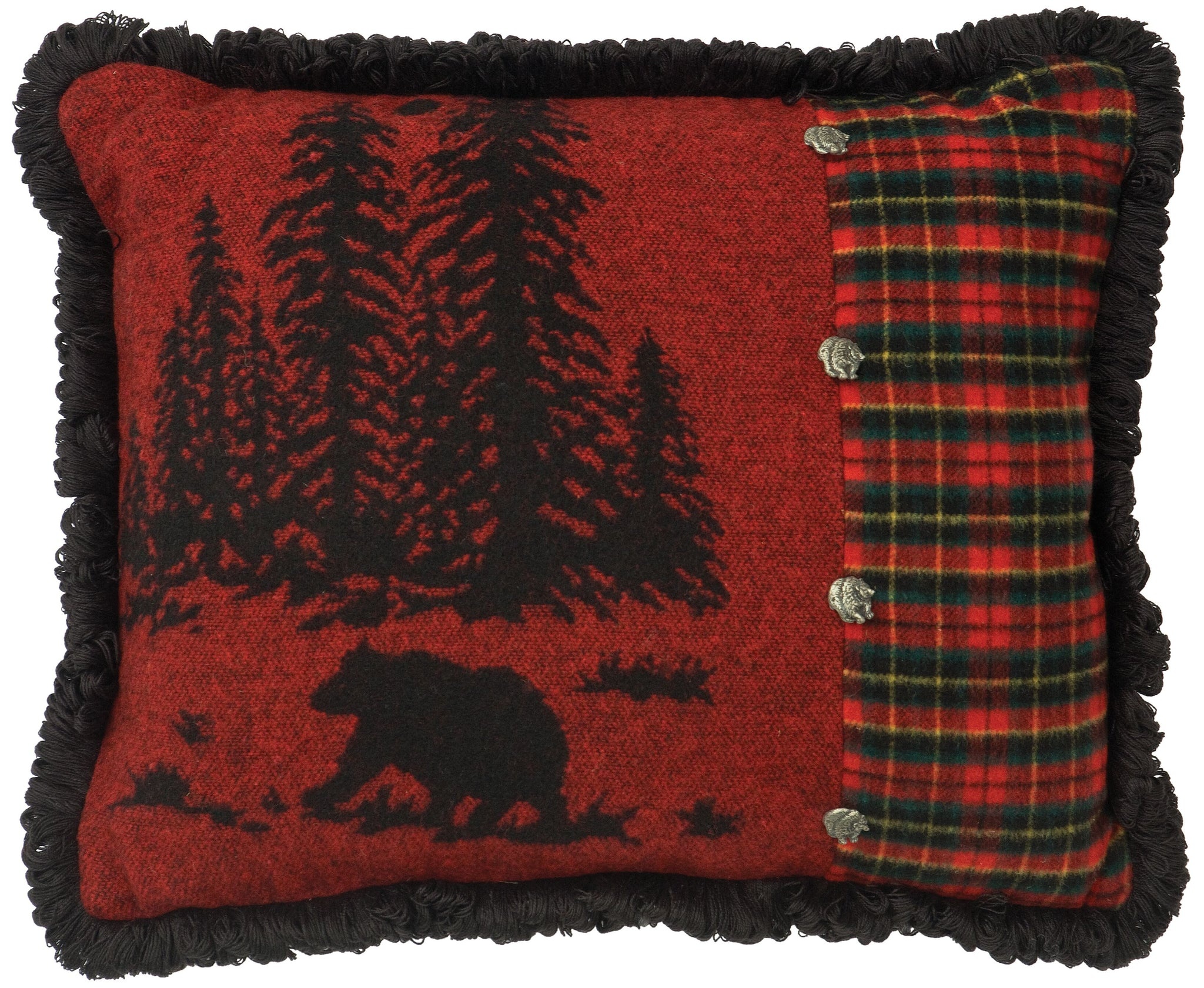 Wooded River Bear Oblong Pillow Wooded River - unique linens online