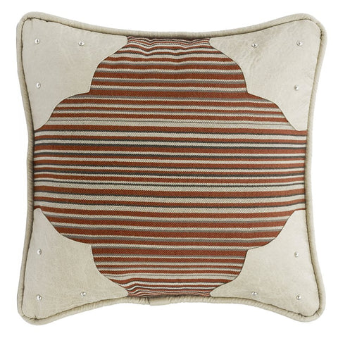 Silverado Striped Pillow HiEnd Accents - unique linens online