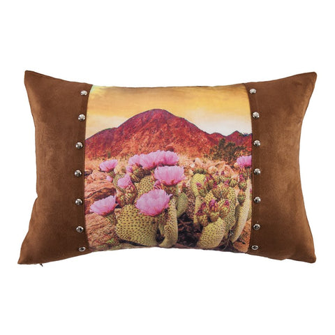 Desert Landscape Pillow HiEnd Accents - unique linens online